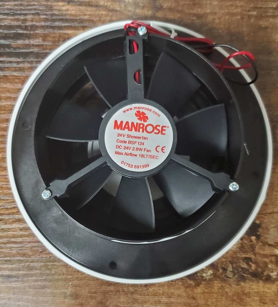 Fan Extractor (100MM, 24VDC)