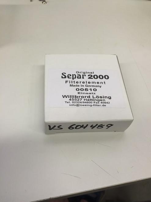 Separ Fuel Filter Element - 00510