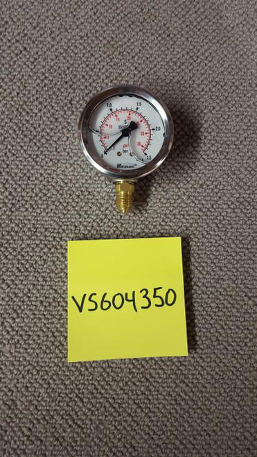 """Gauge - """"Sleipner"""" Steering System Pressure Gauge"""