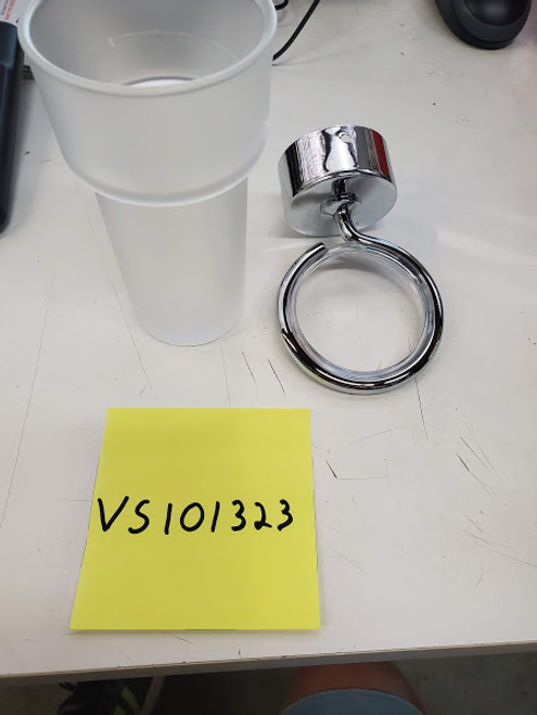 Cup and with holder
