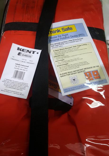 Life Jacket w/ Sorage Bag (4 per bag)