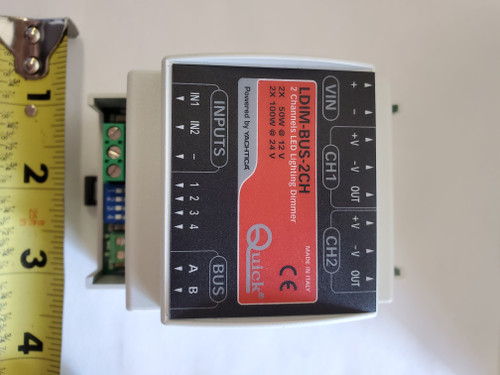 Quick LED Dimmer (100W-24V LDIM Bus 2 Channel)