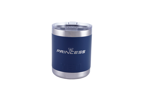 10oz Yeti Lowball (Powder Coated Navy Blue)