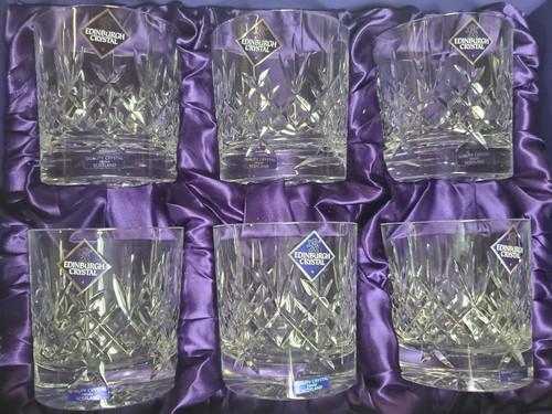 Old Fashioned Crystal Lomond Glasses (6 Per Set)
