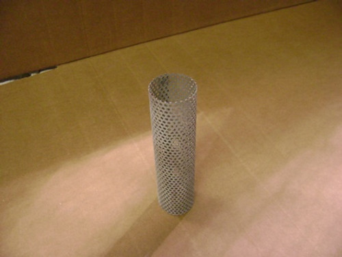 """Strainer Basket 6"""" Tall x 1 1/2"""" Wide  -Round Tube Style"""
