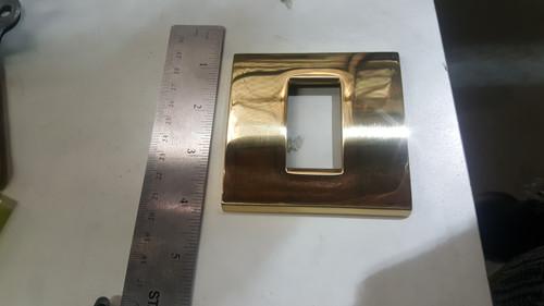 Brass Faceplate - 1 Gang