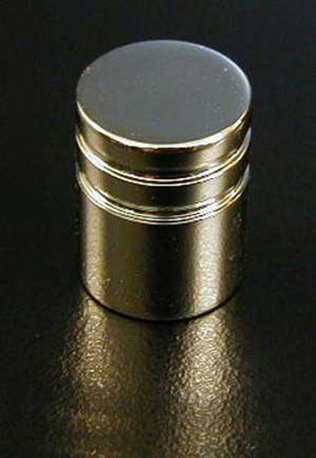 Chrome Push Knob -Small