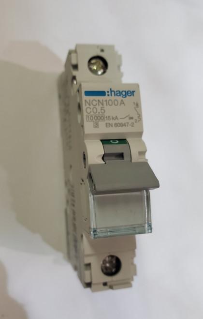 Hager Circuit Breaker (1 Pole, NC100 C0.5)