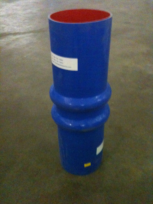"""Exhaust Hose - 7"""" ID x 24"""" Hump Silicone"""