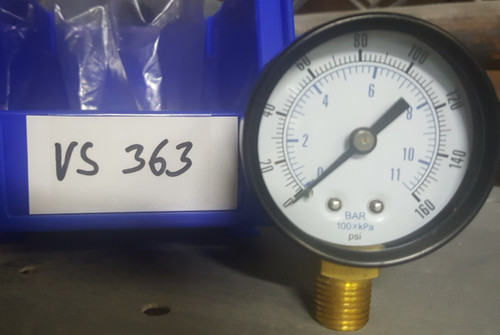 Buell Pressure Gauge