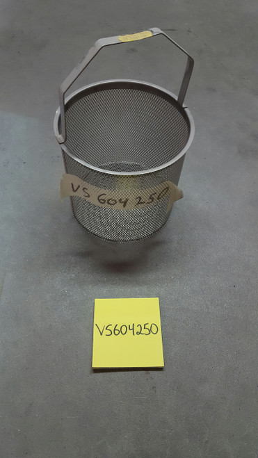 """Strainer Basket 6"""" Tall x 6 3/4"""" Wide without Hole"""