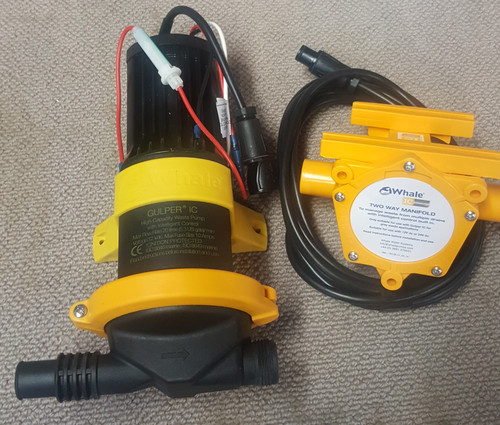12V Whale Pump Gulper IC Grey Water Systems