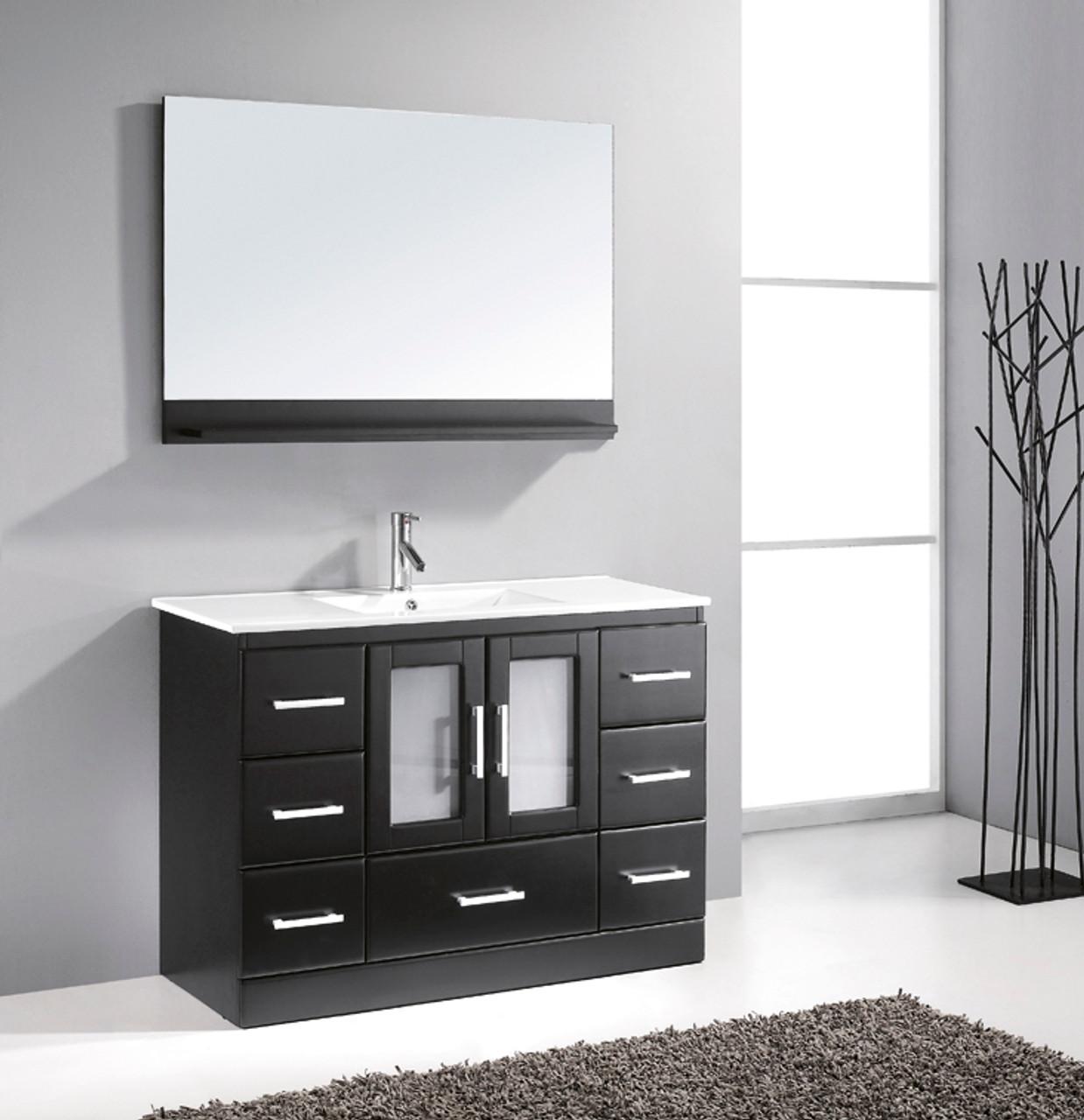 Bathroom Vanities.Oakville 48 Bathroom Vanity Espresso