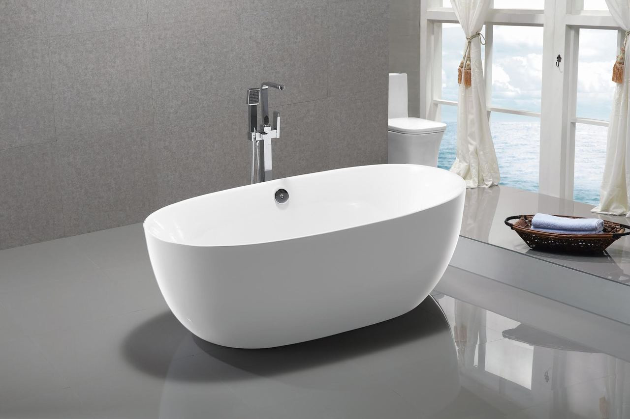 Seabreeze 55 Free Standing Bath Tub York Taps