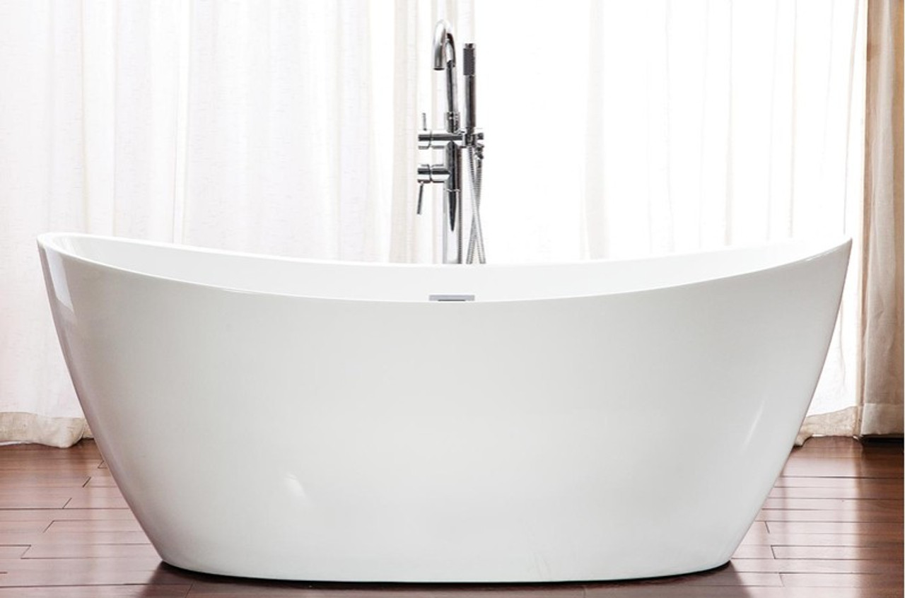 "neptune florence freestaning bath tub 60 "" x 32"" - york taps"