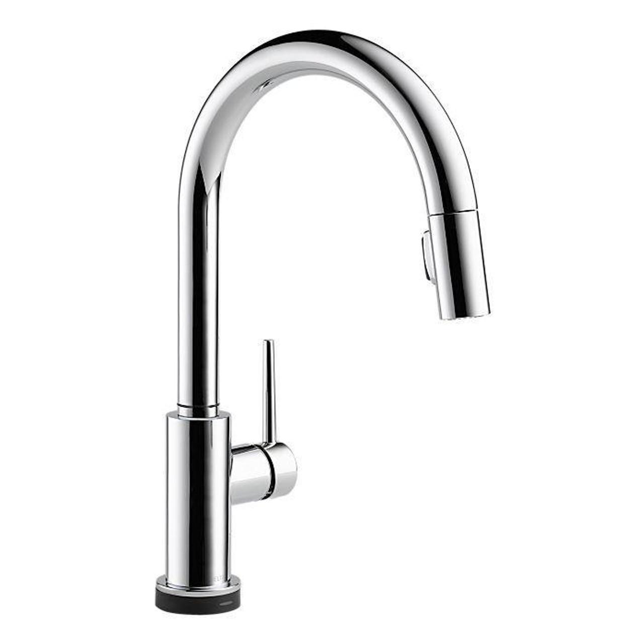 Touch kitchen faucet delta