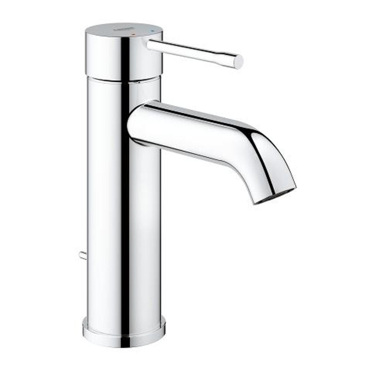 Bathroom Faucets.Grohe Essence Single Handle Bathroom Faucet S Size Chrome Finish