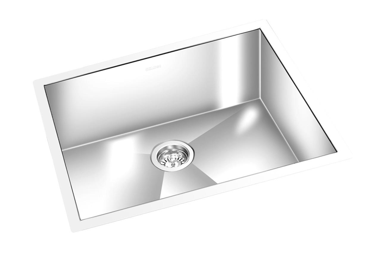 Gem Kitchen Square Sink Undermount 24 X 18 Zssq2200