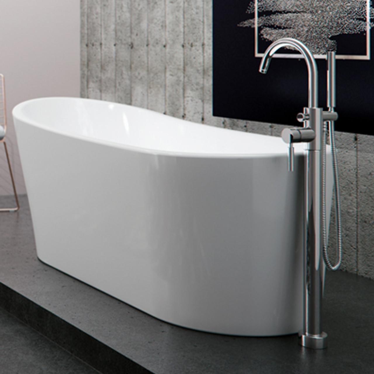 Neptune Paris Freestanding Bathtub 67 Quot X 31 Quot York Taps