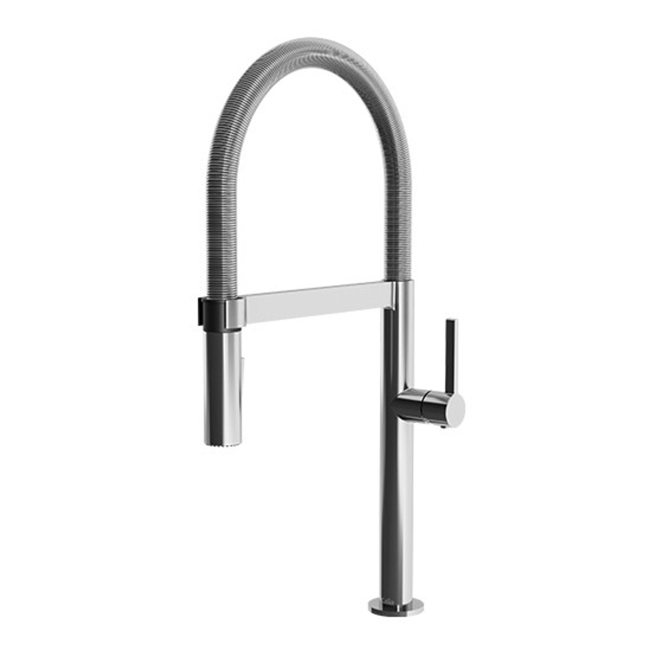 Kalia Exki Single Handle Kitchen Faucet With Magnetic Pull Out Spray