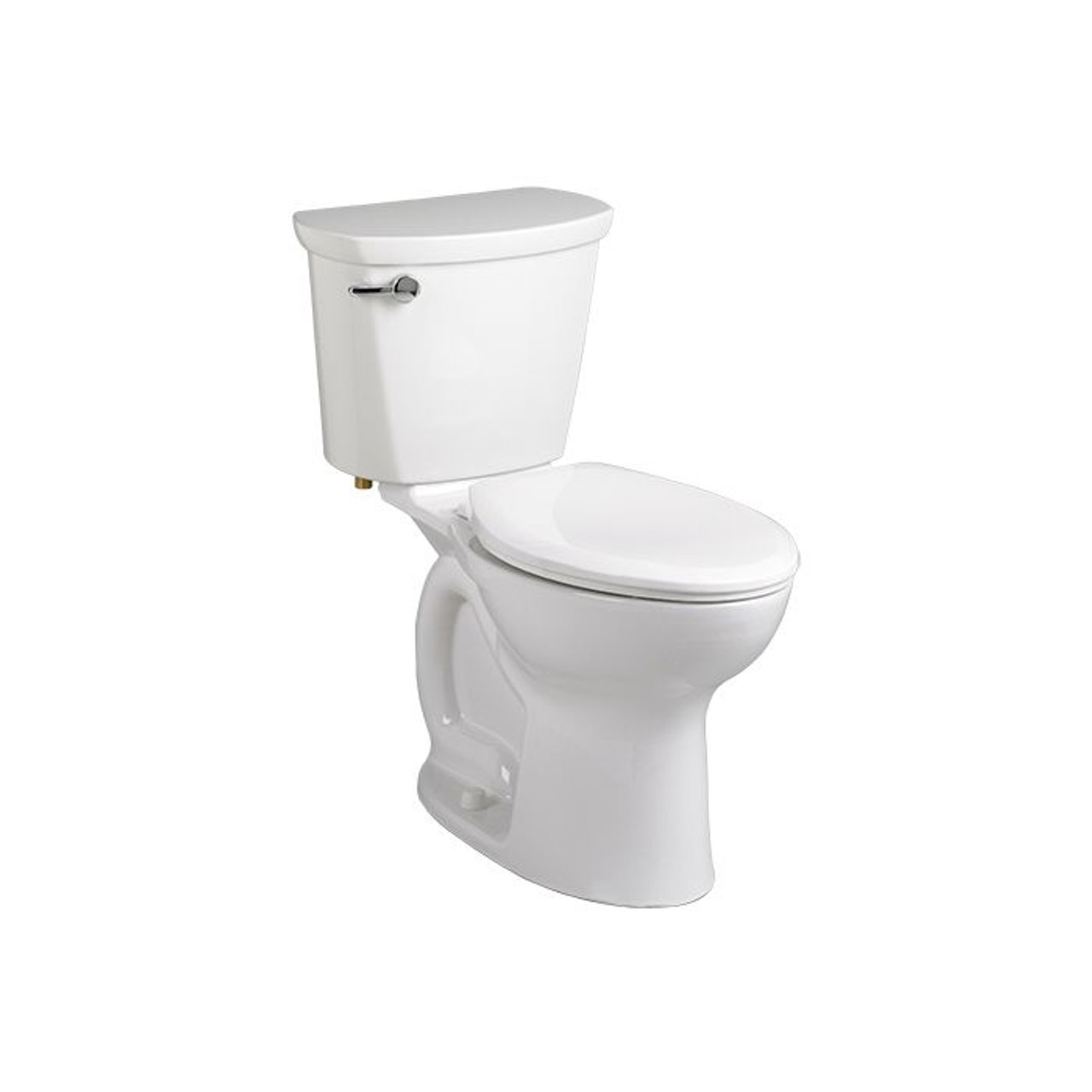 American Standard 215bb104 Cadet Pro Right Height Round Front Toilet 10 White York Taps