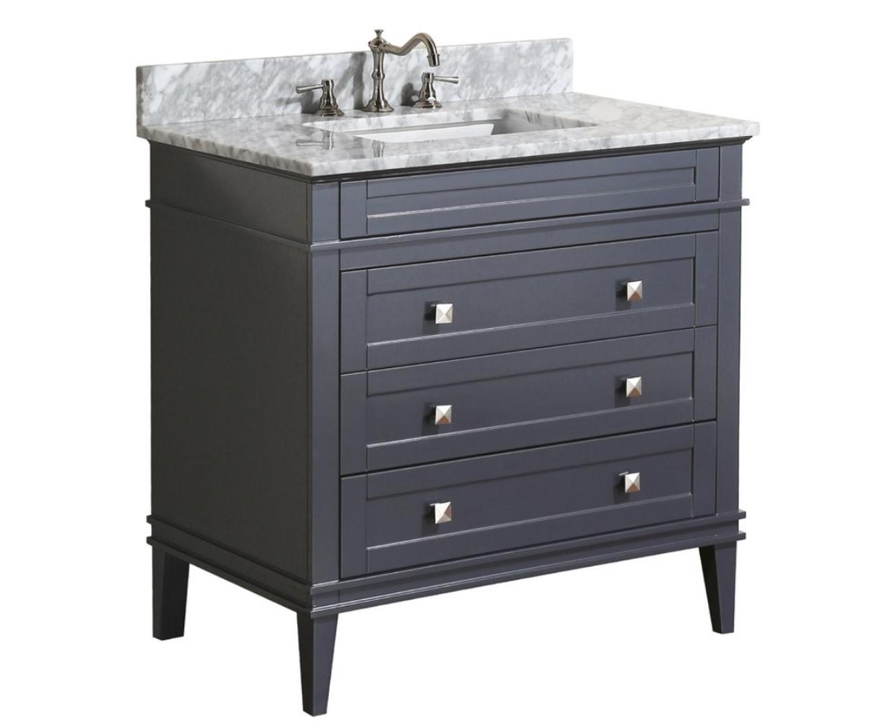 Granton 24 Bathroom Vanity Grey