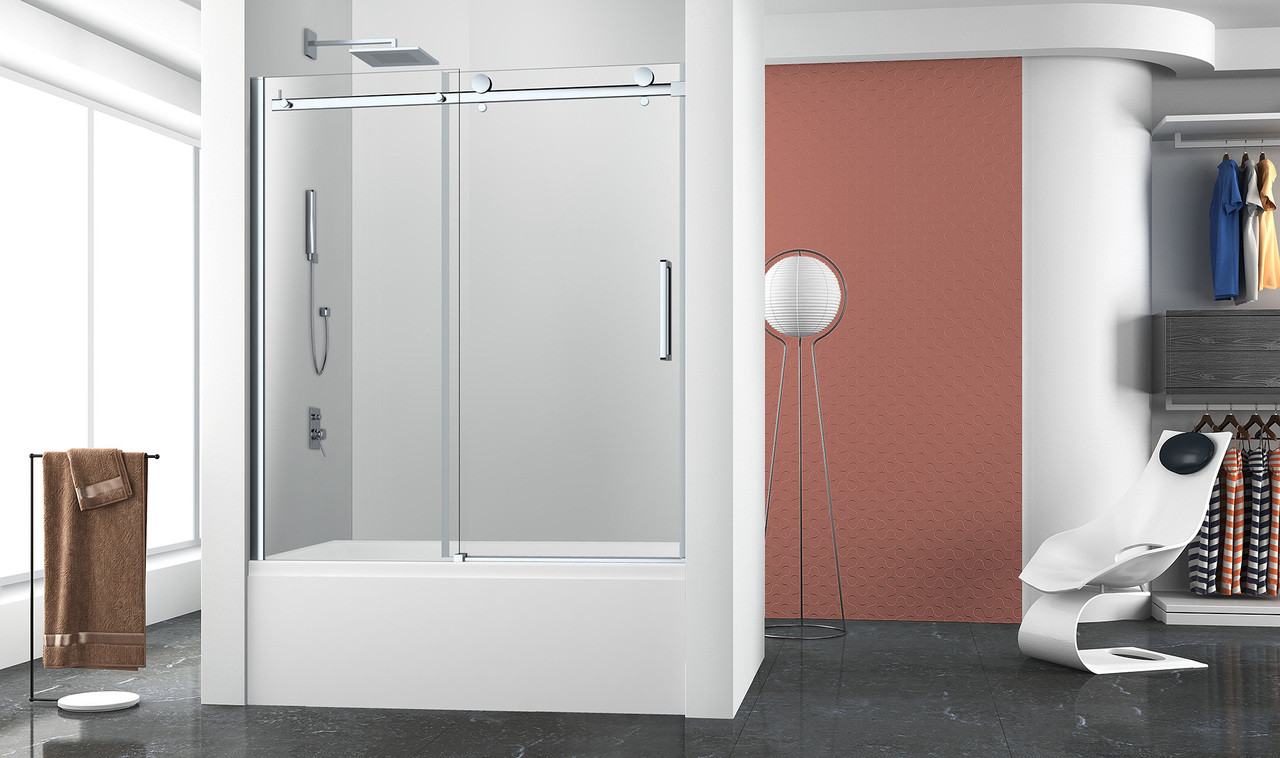 Zitta Bellini 60 X 63 H Bathtub 1 Door 1 Fixed