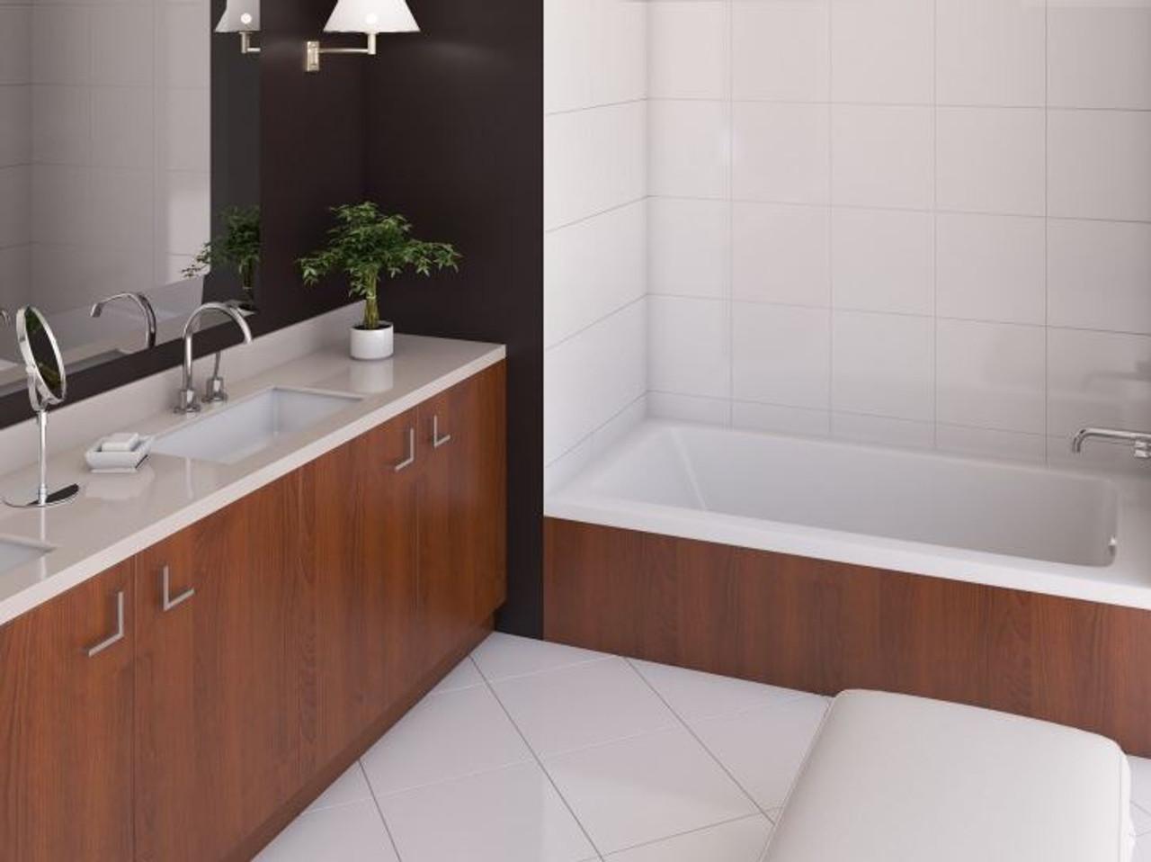 Mirolin Salina Alcove Bath Tubs 66 X 34 X 20