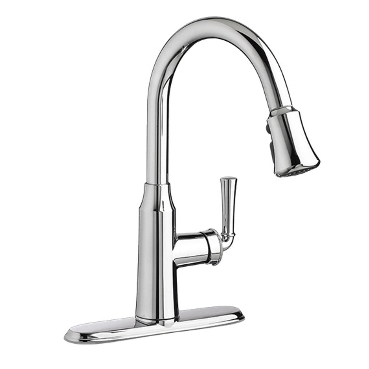American Standard Portsmouth Pull Down Kitchen Faucet York Taps