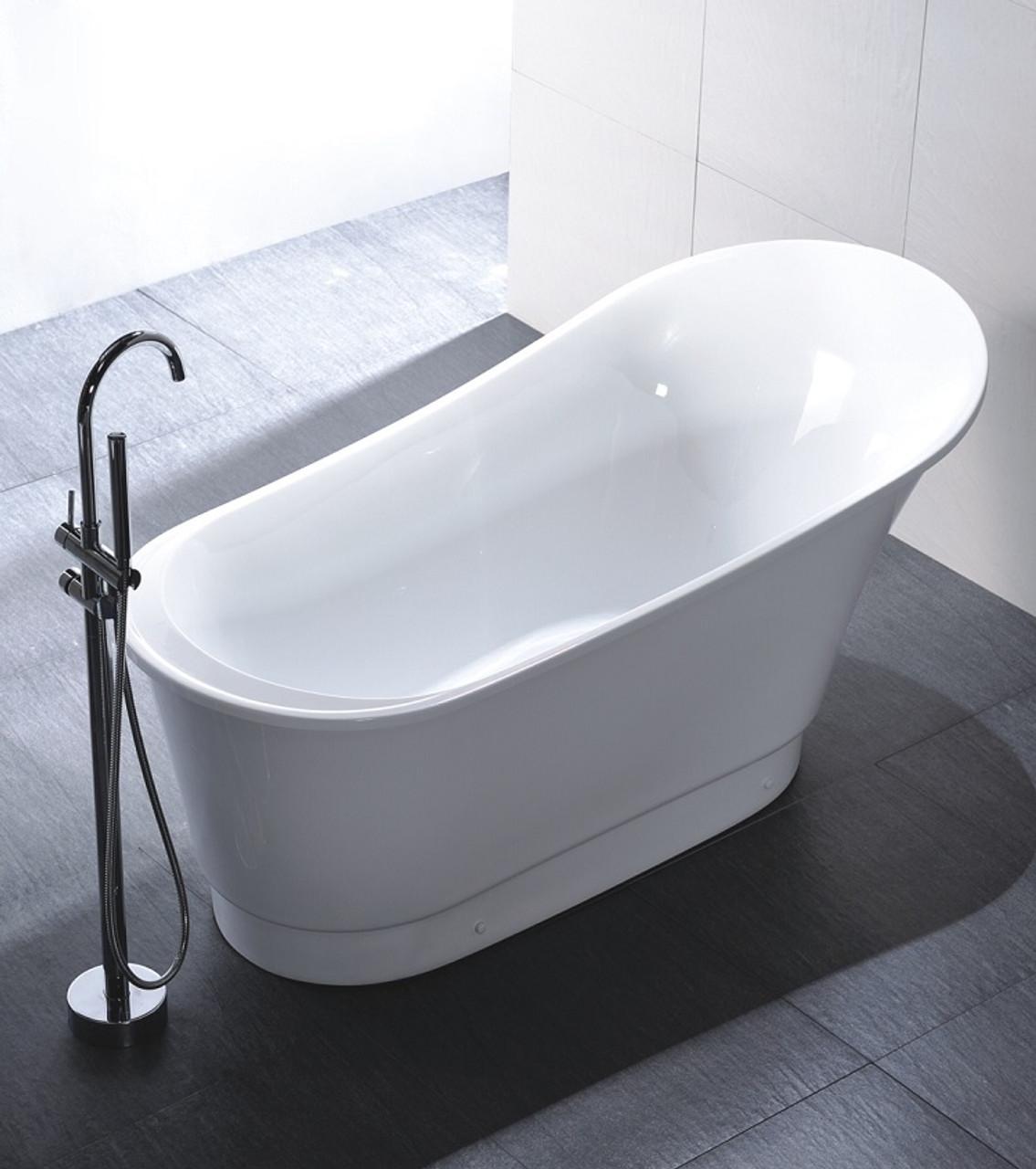 "sydney 67"" freestanding bath tub - york taps"