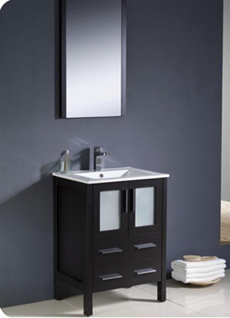 Bello 24 Bathroom Vanity Espresso York Taps
