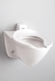 Toto Commercial Flushometer High Efficiency Toilet - 1.28 GPF, Back Inlet Spud