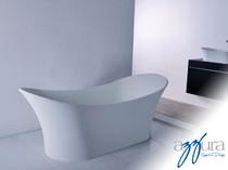 "Mirolin Andrina Solid Surface Freestanding Bath Tub 69"""