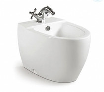 Crown Bahama Single Hole Bidet White