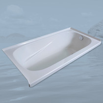 Mirolin Gryphon Acrylic Alcove Bathtub Left