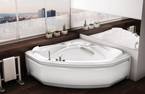 "Maax Infinity Corner Drop in Bath Tub 60"" x 60"""
