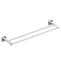 """Riobel Salomé 24"""" Double Towel Bar Chrome"""