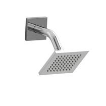 """Riobel 10 cm (4"""") Shower Head with Arm Chrome"""