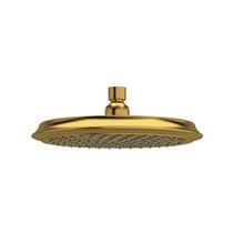 "Riobel 20 cm (8"") Round Shower Head Brushed Gold - 408BG"