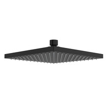"Riobel 20 cm (8"") Square Shower Head Matte Black"