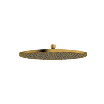 "Riobel 30 cm (12"") Round Shower Head Brushed Gold"