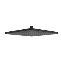 "Riobel 30 cm (12"") Shower Head Matte Black"