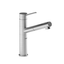 Riobel Cayo Kitchen Faucet With Spray Stainless Steel Finish