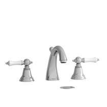 "Riobel Classic Provence 8"" Lavatory Faucet Chrome/White"