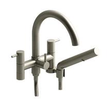 "Riobel CS 6"" Tub Filler with Hand Shower Brushed Nickel"