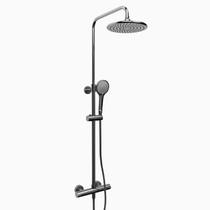Riobel Duo Shower System Chrome Finish