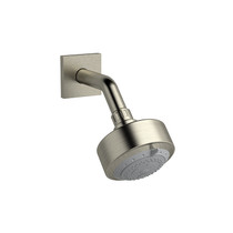 Riobel Eco 3-Jet Shower Head with Arm Brushed Nickel - 346BN