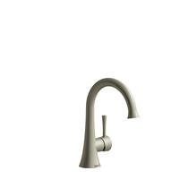 Riobel Edge Single Hole Lavatory Faucet Without Drain Brushed Nickel