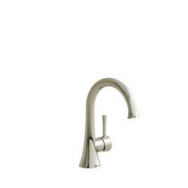 Riobel Edge Single Hole Lavatory Faucet Without Drain Polished Nickel