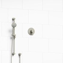 Riobel Edge Type P (Pressure Balance) Shower Brushed Nickel